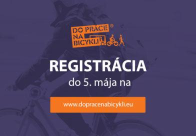 Už 5. ročník kampane Do práce na bicykli!