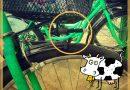 Hlučný zelený bicykel je históriou